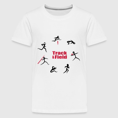High Track & Field, Heptathlon - Teenage Premium T-Shirt