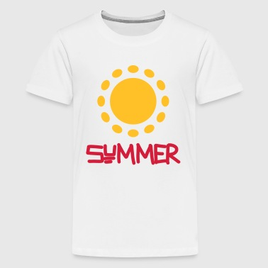 Summer - Teenage Premium T-Shirt