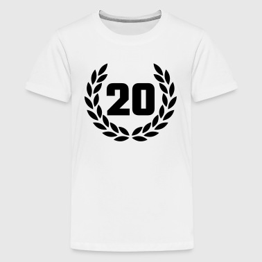 Jubiläum 20 - Teenager Premium T-Shirt