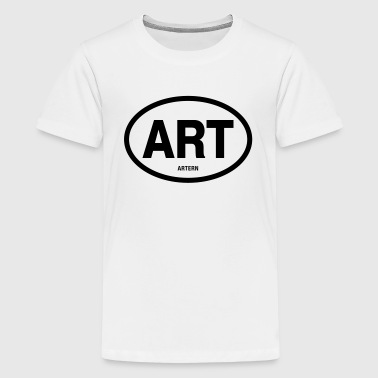 ART Artern - Teenager Premium T-Shirt