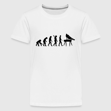 Turnen Evolutie TURNEN EVOLUTIE! - Teenager Premium T-shirt