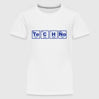 TECHNO PERIODIC TABLE - Camiseta premium adolescente