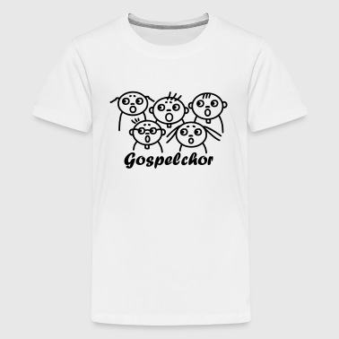Gospelchor - singen - Teenager Premium T-Shirt