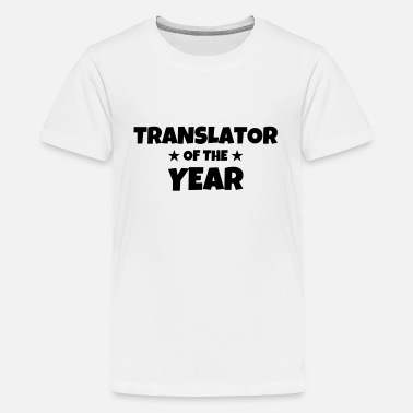Traduction traducteur / traduction / traductrice / traduire - T-shirt Premium Ado
