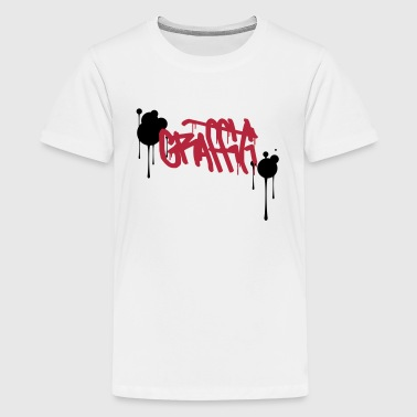 Graffiti - Teenager Premium T-shirt