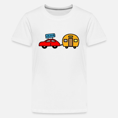 Caravan Wanker Caravan - colorful - Teenage Premium T-Shirt