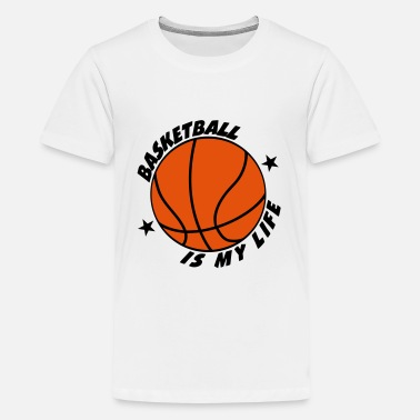 Basketball Basketball - Teenager Premium T-shirt