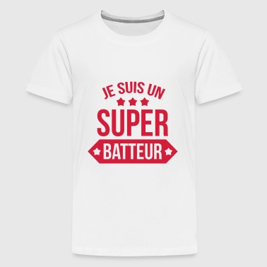 Batterie / Batteur / Musique / Rock / Music / Drum - T-shirt Premium Ado