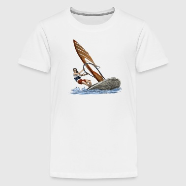 Windsurfing - Teenager Premium T-Shirt