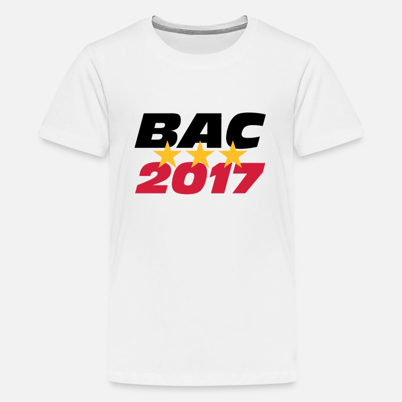 2018 T-Shirts - BAC 2017 - Teenage Premium T-Shirt white