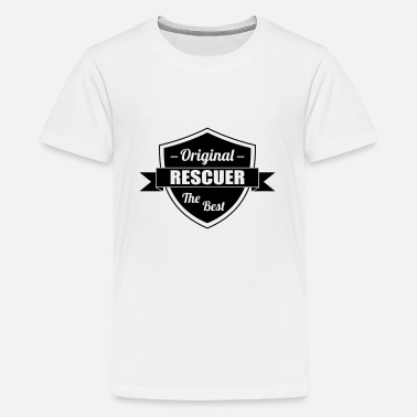 Opluchting EHBO / redder / opluchting / noodgevallen - Teenager Premium T-shirt