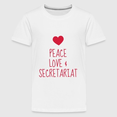 Secretary Sekretärin Secrétaire Secretariat Boss - Teenage Premium T-Shirt