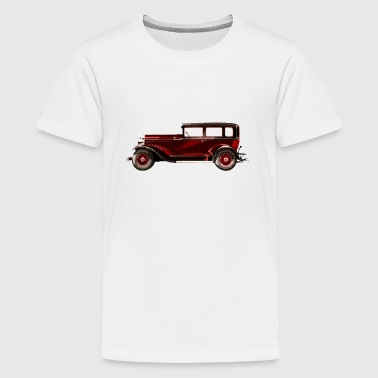 Retro car - Teenage Premium T-Shirt
