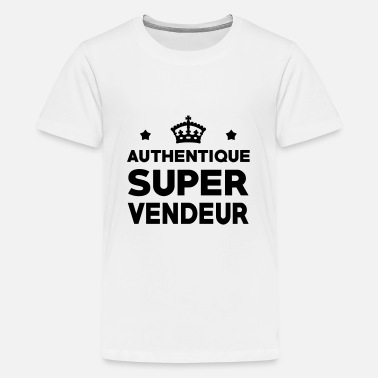 Vendeur Vendeur / Vendeuse / Vente / Magasin / Commerce - T-shirt Premium Ado