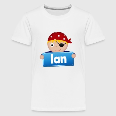 Little Pirate Ian - Teenage Premium T-Shirt