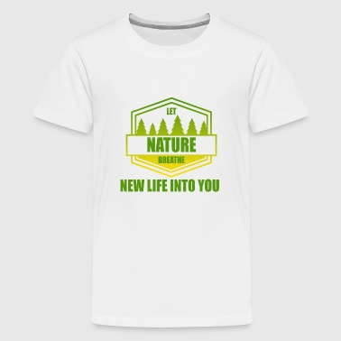 Nature - conservation - Teenage Premium T-Shirt