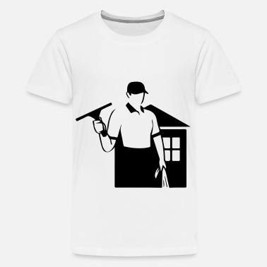 Window Cleaner window cleaner - Teenage Premium T-Shirt