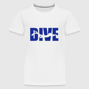Dive - Teenager Premium T-shirt