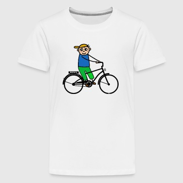 E-biker - E bike schwarz - Teenager Premium T-Shirt