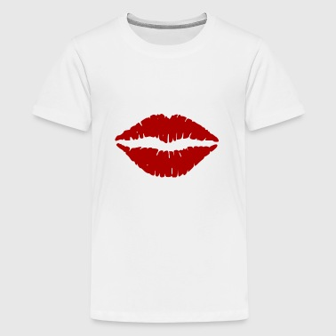 lippen - Teenager Premium T-shirt