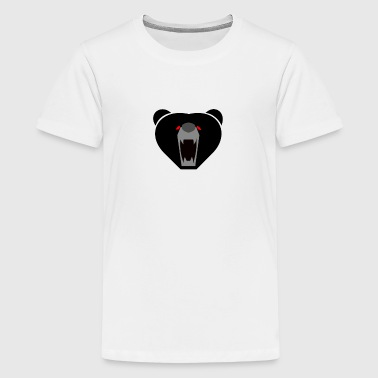 Furious Bear - Teenager premium T-shirt