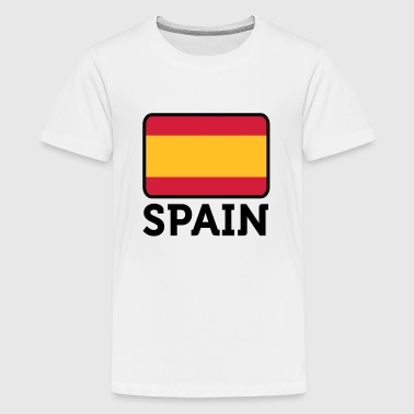 Monarki National Flag of Spain - Teenager premium T-shirt