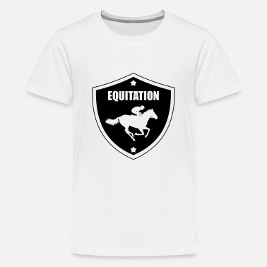 Equitation Equitation - Teenage Premium T-Shirt