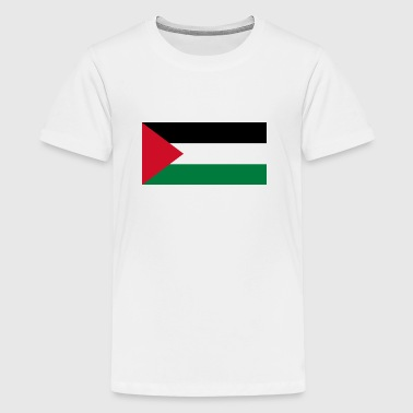 National flag of Palestine - Teenage Premium T-Shirt