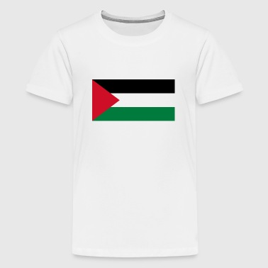 National flag of Palestine - Teinien premium t-paita
