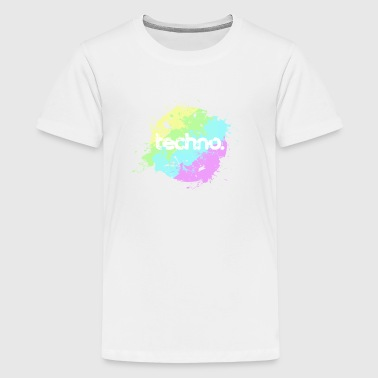 techno - Teenager Premium T-Shirt