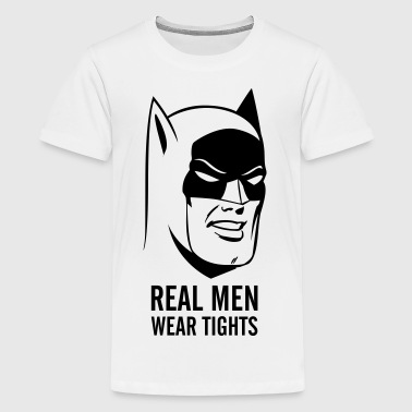 Batman Real Man teenager T-shirt - Teenager Premium T-shirt