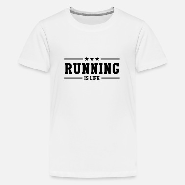 Gracioso correr / run / running / correr / run - Camiseta premium adolescente
