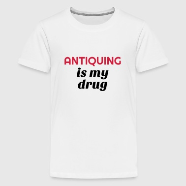 brocante / brocanteur / antiquaire / antiquité - T-shirt Premium Ado