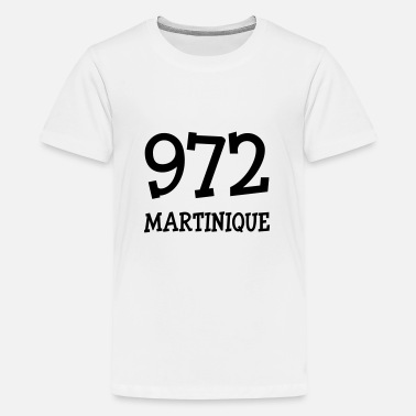 Martinique 972 972 Martinique - Teenage Premium T-Shirt