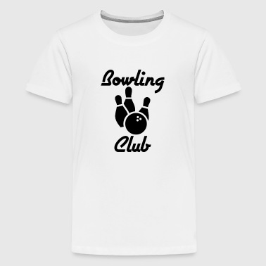 Bowling Club / Bowling Verein / Kegel - Teenager Premium T-Shirt