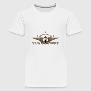 Vague Unit Egypt - Teenage Premium T-Shirt