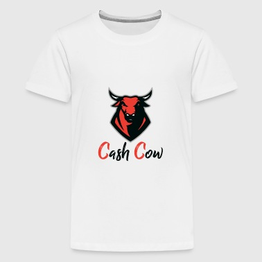 Cash Cow RED - Teenage Premium T-Shirt