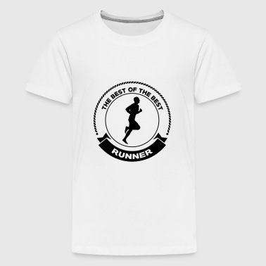 Course à Pied / Running / Jogging / Coureur - T-shirt Premium Ado