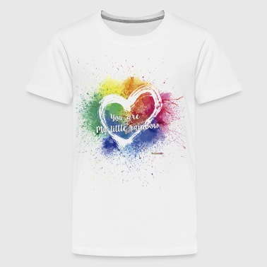 Little Big Rainbow - Teenage Premium T-Shirt