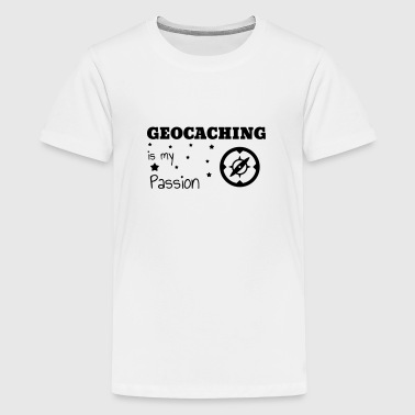 Geocaching / Geocacher / Compass / GPS - Teenage Premium T-Shirt