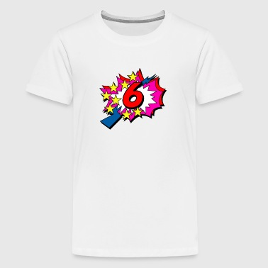 POP Star 6 - T-shirt Premium Ado
