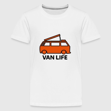 Van life pop-top - Teenage Premium T-Shirt