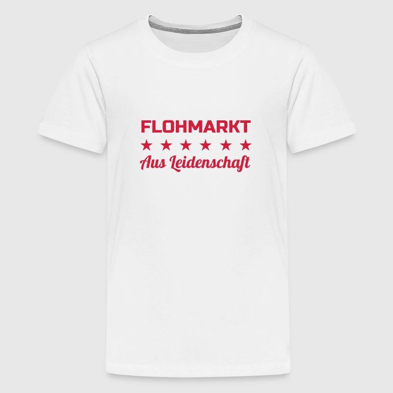Flohmarkt / Trödler / Antiquar / Antike - Teenager Premium T-Shirt