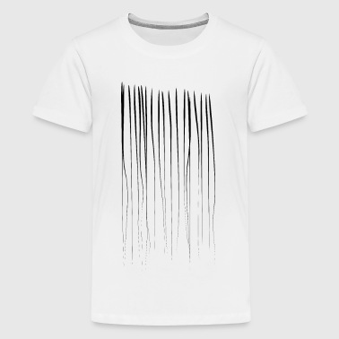 Striche - Teenager Premium T-Shirt