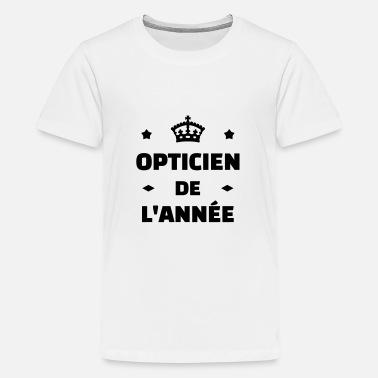 Optique Opticien opticien   optique   yeux   lunettes - T-shirt Premium Ado bcaa7bdcb59c