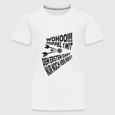 Tohovedet Wohoo Double 1 Rest 499 - Teenager premium T-shirt