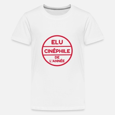 Cinephile Cinema / Film Buff / Filmfan / Cinéphile / Kino - Teenage Premium T-Shirt