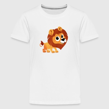 Aquarell Löwe - Kinder - Baby - Tier - Baby - Kind - Teenager Premium T-Shirt