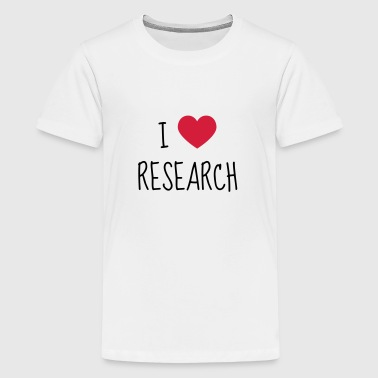 Researcher Research Forscher Chercheur Recherche - Teenage Premium T-Shirt