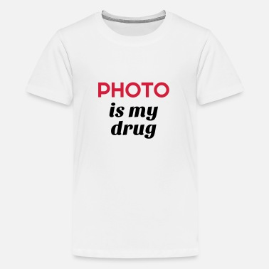 Geek Fotografie Fotograf / Fotografie / Bild / Video - Teenager Premium T-Shirt